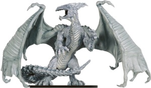 Frost Witch white dragon form