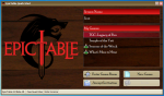 EpicTable Quick Start Dialog Box
